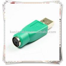 ADAPTATEUR DE CONVERTISSEUR PS2 TO USB PORT pour PC KEYBOARD MOUSE
