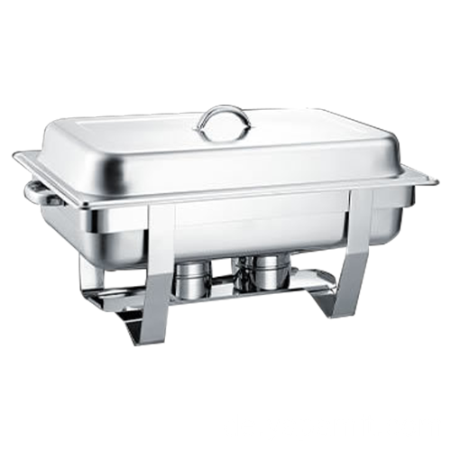 Oblong Roll Chafing Dish aus Edelstahl