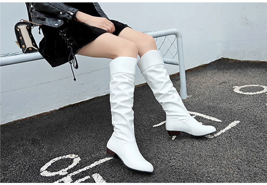 Ladies Slouch Boots