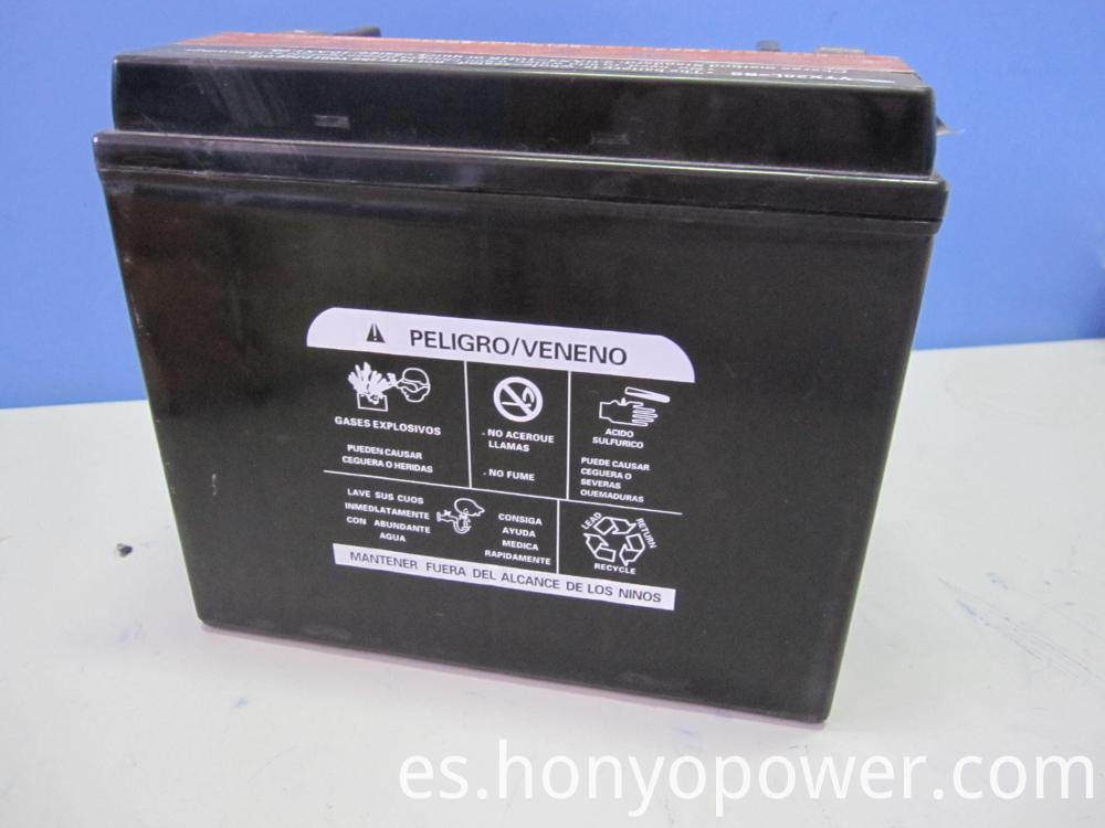 YTX20L-BS Motorcycle Batteries