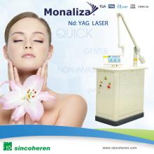 Eliminación de marcas de nacimiento -Monaliza-2 Terminator Medical Laser Equipment Skincare Pigment Eliminar