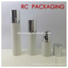 15 мл / 30 мл / 50 мл пластиковая косметическая бутылка для безвоздушного распыления, пластиковая круглая безвоздушная бутылка, косметическая бутылка для безвоздушного распыления