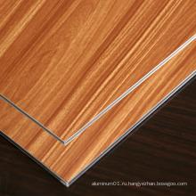 Деревянная алюминиевая композитная панель