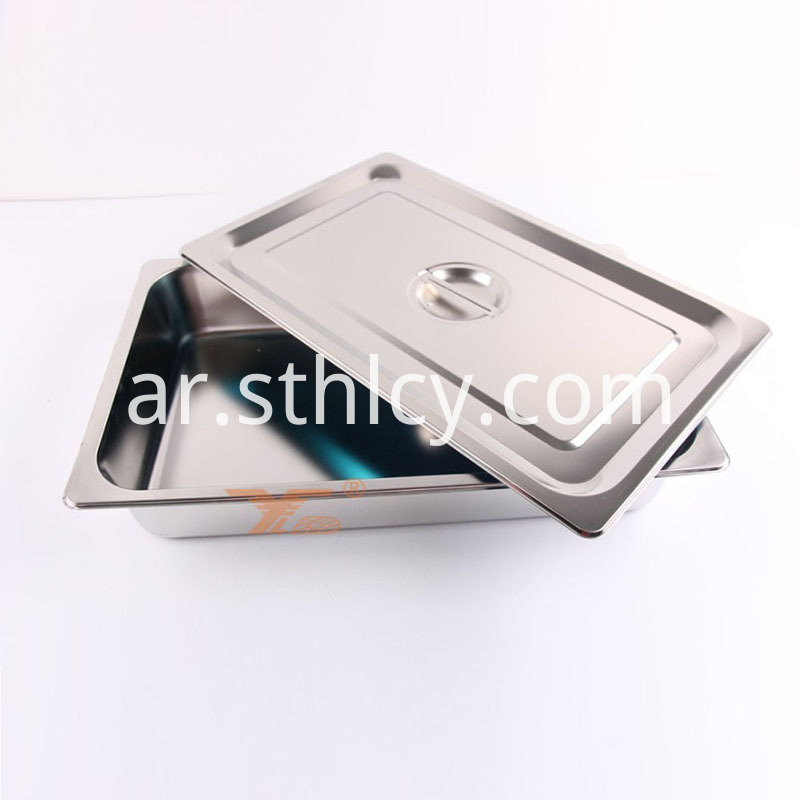 Rectangular Stainless Steel Kitchenware