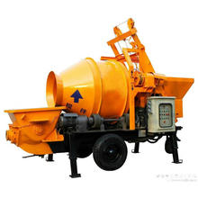 Small Concrete Mixer And Concrete Pump