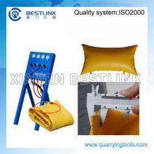High Efficiency Stone Block Polymer Pushing Bag and Cushion