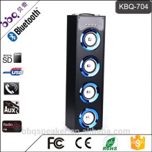 BBQ KBQ-704 40W 5000mAh 2016 Professional Bluetooth tower Speaker Wireless audio for sale