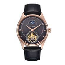 Customize Logo Rose Gold Mechanical Automatic Watch