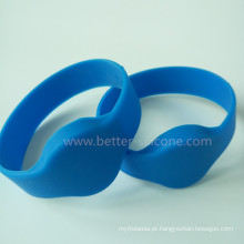 Pulseira de silicone ultraleve MIFARE RFID para hospital