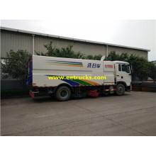 HOWO 10 CBM Vacuum Camiones Barredoras