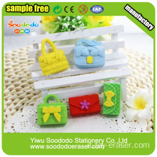 SOODODO Eco-friendly Eraser 3D Red signora scarabei a forma di