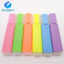 Оптовая дешевые разноцветные Highligter маркер рекламных Highlighter набор