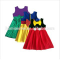 baby girl sleeveless dress hot sell princess cosplay 2017 summer girl dress for party
