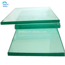 high quality Float Glass Type and Solid Structure clear sheet glass price for building wholesale