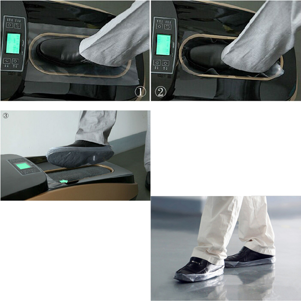Disposable shoe cover machine 4