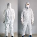 Medizinische Einweg-Schutzkleidung aus Vlies