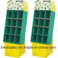 9 Cells Merchandiser Cardboard Display Racks, Paper Display Stands