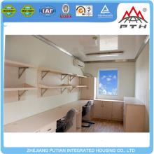 Edificio de construcción rápida de alta calidad prefabricado de contenedores de oficinas