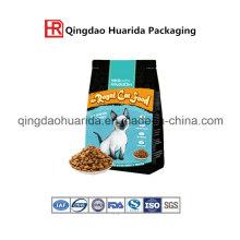Пластичный мешок упаковки еды любимчика с застежкой-молнией