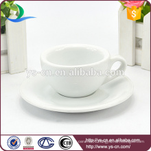 hot sale!! ceramic porcelain 65ml small coffee cup and saucer wholesale