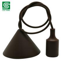 Silicone Ceiling Lighting E27 Plastic Pendant Lamp