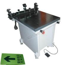 Impresora de pantalla manual Tam-6080s de succión de mesa de succión personalizada para vidrio
