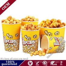 Custom Printed Disposable Packaging Popcorn Paper Cup for Sale