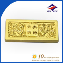 Delicate dragon die casting name plate for sale