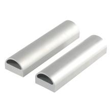 Tubo de aluminio de tubo ovalado de extrusión de extrusión de aluminio sin costura profesional