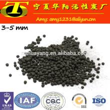 Kohlebasierte kugelförmige Aktivkohle für Verkauf