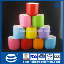 2014 New Arrival 300ml 10oz new bone china glazed colorful mugs