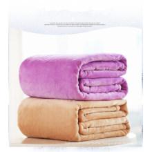 Full/Queen Size Reversible Microfiber Blanket for Home