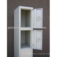 Three-tier locker