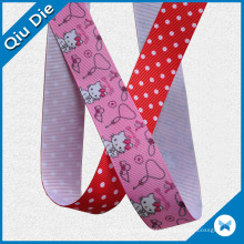 Printed Grosgrain Ribbon for Christmas Gift Packing/Garment Accessories