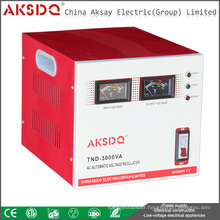New SVC 3kva Single Phase Widely Input 70V to 260V Servo Motor High Precision AC Automatic Voltage Stabilizer For Household Use