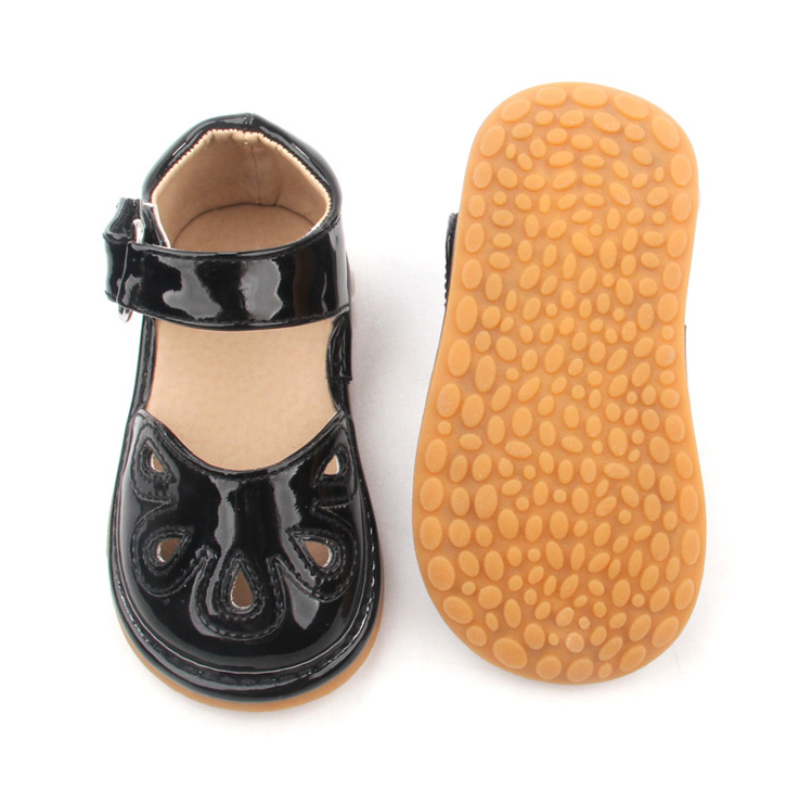 Fashion Rubber Pu Newborn Baby Sandals Shoes Summer