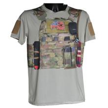 Wolf esclaves tactique Sport T-Shirt Python militaire Camo T-Shirt