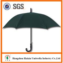Корпоративные подарки зеленый цвет коммерческих зонтик с пластиковых ребер