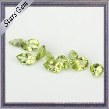 Crystal Clear Natural Peridot Stone para joyería de moda