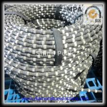 Sierra de hilo diamantada para la cuadratura de bloques de granito