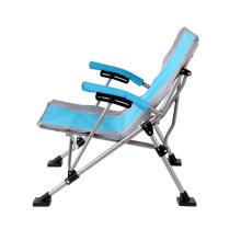 Cadeiras de metal dobrável barato de alta qualidade cadeira de acampamento de dobramento confortável idoso