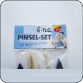 proveedor de cepillo conjunto de pinceles de mango de madera de china