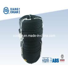 Cuerda de nylon negro 3 filamentos