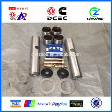 Peças de Reposição China Fabricante King Pin Kits / King Pin Kits de Reparo, conjunto de pino de articulação da direção do eixo dianteiro