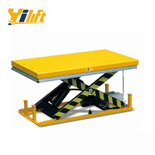 1000kg electric motorcycle lift table with removable lifting eye