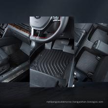 Factory supply cars accessories anti-slip durable rubber tpo car floor mat