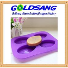 Molde de jabón creativo Molde de pastel de silicona DIY Molde de forma de hoja