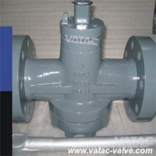 CF8&CF8m Inverted Pressure Balanced Oil Sealed Plug Valve Lever&Gear