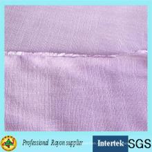 Окрашенная пряжа ткань из вискозы для женской одежды