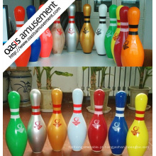 Pinos de bowling para o bowling de dez pinos